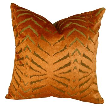 Plutus Magnetism Handmade Double Sided King Throw Pillow