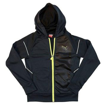 Puma French Terry Full Zip Hoodie   Boys 8 20 Size: