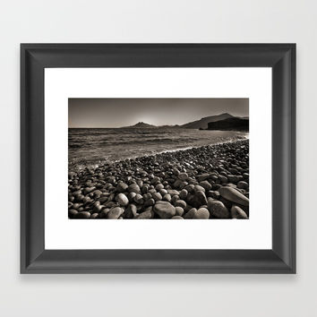 Carnaje Beach Framed Art Print by Guido Montañés