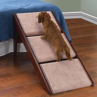 THREE STEP - Fold-Away Pet Steps and Ramp in One