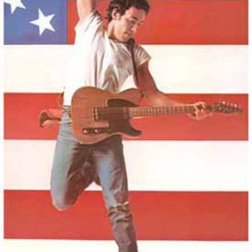 Bruce Springsteen Born in the USA Poster 11x17