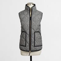 Factory novelty quilted puffer vest - Blazers & Outerwear - FactoryWomen's New Arrivals - J.Crew Factory