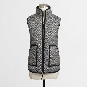 Factory novelty quilted puffer vest - Outerwear - FactoryWomen's Outerwear & Blazers - J.Crew Factory