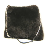 Prada Dark Mink Evening Bag