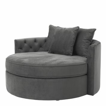 Granite Gray Sofa | Eichholtz Carlita