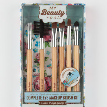 My Beauty Spot Complete Eye Makeup Brush Kit Multi One Size For Women 27833795701