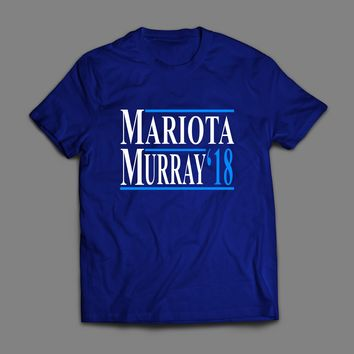 TENNESSEE'S MARIOTA & MURRAY '18 ELECTION STYLE NAVY T-SHIRT