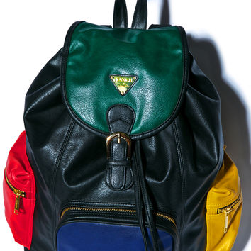 Joyrich Progressive Color Block Mini Backpack Multi One