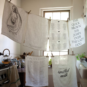 Pure Linen Tea Towel