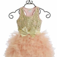 Ooh La La Couture Wow Dream Dress for Girls Pink Champagne