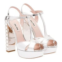 Miu Miu e-store · Shoes · Sandals · Sandals 5XP491_ZBZ_F0118_F_135