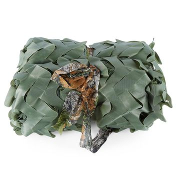 2 x 3M Woodland Military Car Tent Camouflage Net Hunting Camping Cover Sunshade