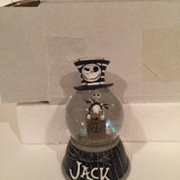 Disney Parks Paris Nightmare Before Christmas SnowGlobe New with Tag