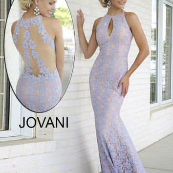 Long Lace Dress 99166 - Prom Dresses