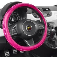 Alpena 10404 Pink Bling Steering Wheel Cover