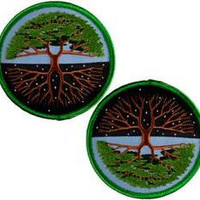 Tree of Life iron-on patch 3