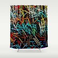 :: Love Letters :: Shower Curtain by :: GaleStorm Artworks ::