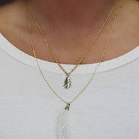 Float on Necklace