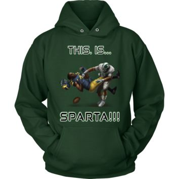 Michigan State Spartans This Is Sparta Hoodie