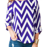 COLLEGE AVE CHEVRON TOP