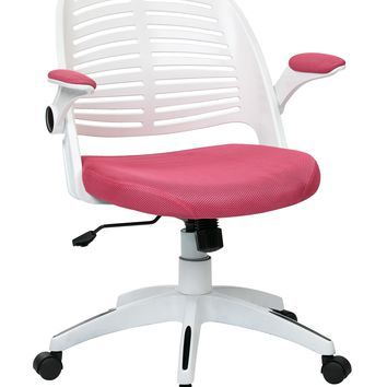 Office Star Pink Tyler Office Chair