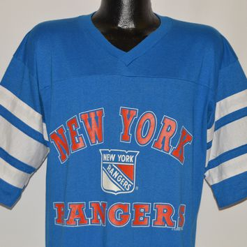 80s New York Rangers NHL Jersey t-shirt Extra Large
