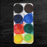 Muted Water Color Palette iPhone 4 and 5 Case