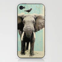 friends for life iPhone & iPod Skin by Vin Zzep