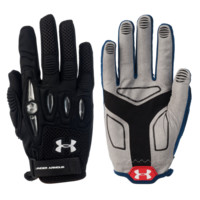 Under Armour Player Girls Lacrosse Glove in White | Lacrosse Unlimited