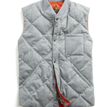Rocky Mountain Featherbed Vest in Wool Flannel