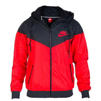 NIKE WINDRUNNER JACKET - Red - NIKE