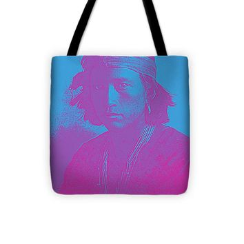Portrait Of A Navajo Youth 4 - Tote Bag