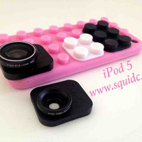 iPod Touch SquidCam Case and 3 Lens System