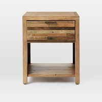 Bay Reclaimed Pine Nightstand - Rustic Natural