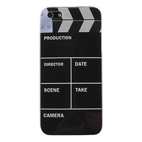 Camera Production Pattern Hard Case for iPhone 5