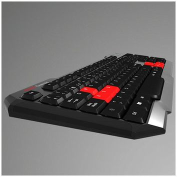 Gaming Keyboard Tacens MAK0 USB Black Red