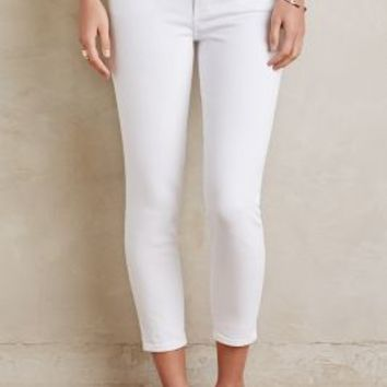 Citizens of Humanity Rocket Crop Jeans in White Size: