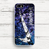 iPhone 4s 5s 5c 6s Cases, Samsung Galaxy Case, iPod Touch 4 5 6 case, HTC One case, Sony Xperia case, LG case, Nexus case, iPad case, just do it cracked glass blue Nike Cases
