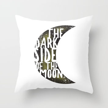 Floyd Pink - the dark side of the moon Throw Pillow by g-man