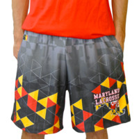 Maryland Triangle Lax Shorts | Lacrosse Unlimited