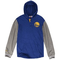 Mid-Season Hooded Longsleeve Golden State Warriors Mitchell & Ness Nostalgia Co.