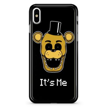 Five Nights At Freddy Fnaf Golden Freddy It S Me iPhone X Case