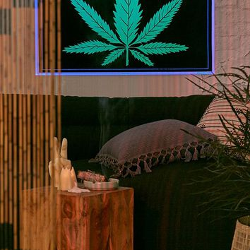 Weed Blacklight Poster | Urban Outfitters