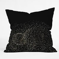 Catherine McDonald Sky Glitter Throw Pillow