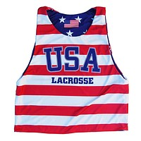 USA Lacrosse Stars and Stripes Sublimated Pinnie