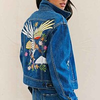 Urban Renewal Recycled Embroidered Denim Jacket-