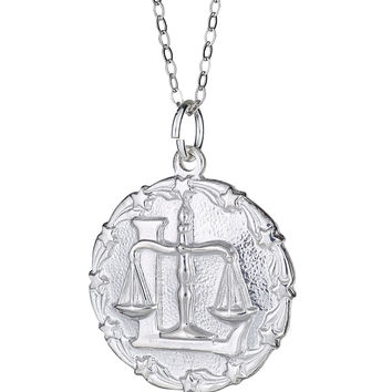 Zodiac Necklace-Sterling Silver