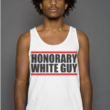 Honorary White Guy T-Shirt, Subversive Graphic Tee, Best Friend Gift, Men's Graphic Tee, Made in the USA, Best T-Shirts