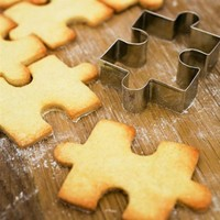Jigsaw Cookie Cutter at Curiobot