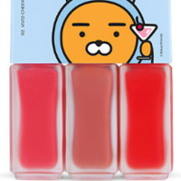 [THE FACE SHOP] Hoodie Ryan Mini Makeup Bar 02 Vivid Cheek Bar (Kakao Friends)